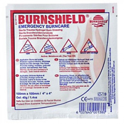 Apósitos para quemaduras Burnshield